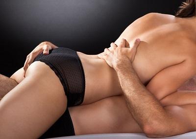 woman thrusting