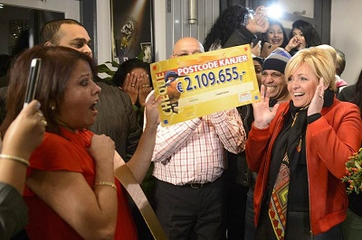 Woman divorces husband after winning lottery