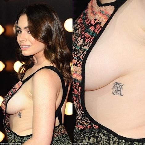 Tori score boob pictures
