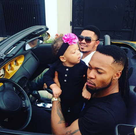 See the Luxury Super Car Flavour Nabania was Pictured Cruizing in