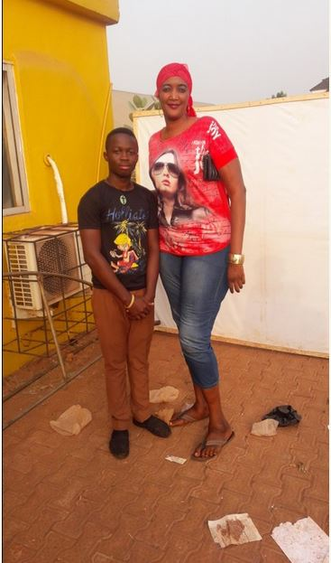 The tallest woman in nigeria