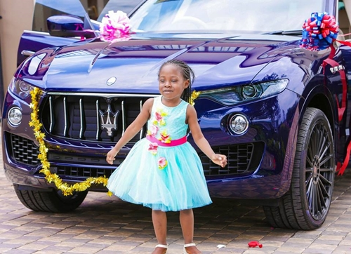 The 6 Year Old And Her Car Gift