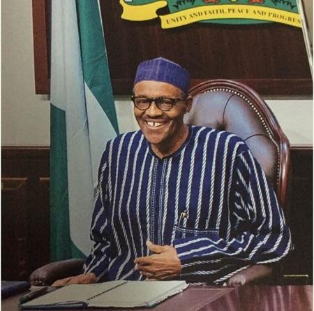 Billedresultat for Buhari In London Abuja House