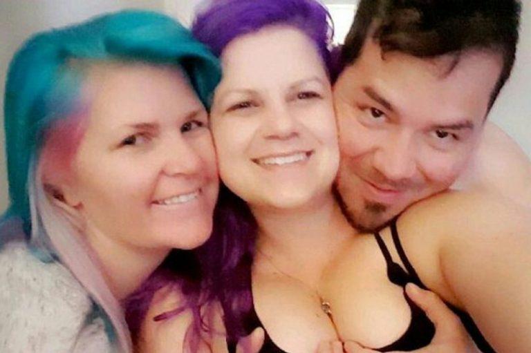 Teen anal trio