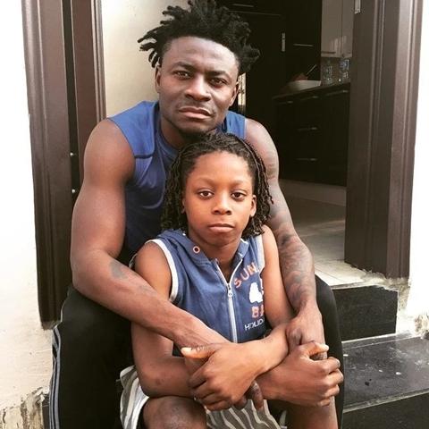 Image result for Obafemi Martins and sons