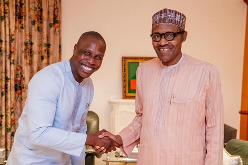 Olajunwo visits Buhari