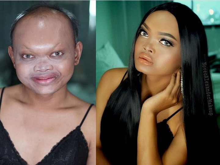 Incredible: Woman's 'Before And After' Makeup Transformation Stuns Social Media (Photos)