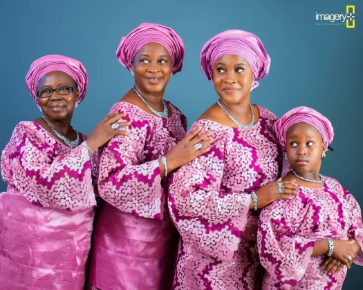 Image result for Amazing 4 generation photo of a Nigerian Family