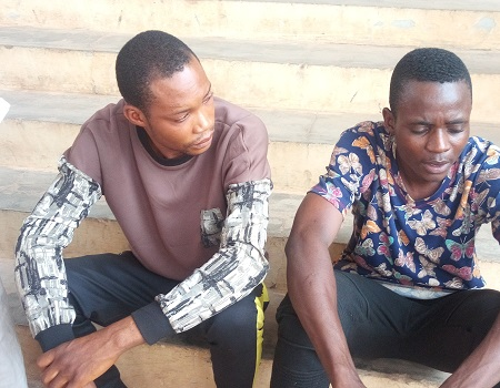 Image result for Two Church Security Guards In Arrested For Stealing Pastor's Daughter Pants