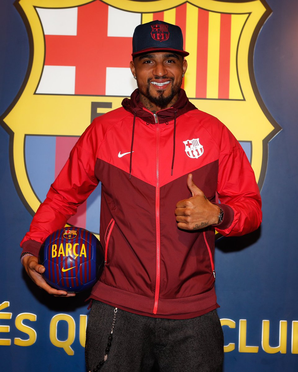 How Kevin-Prince Boateng sealed 'dream' move to Barcelona