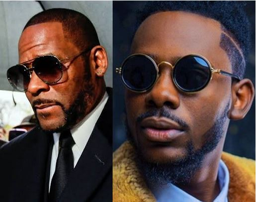 Image result for Check Out How Adekunle Gold Reacted After Being Compared To R. Kelly On Twitter