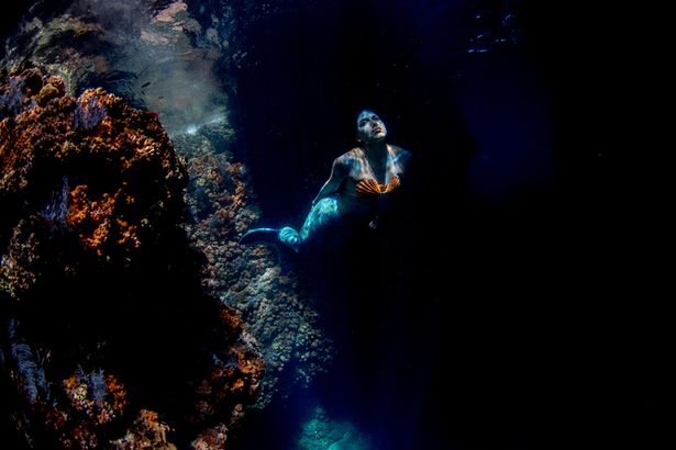 Military Man Tells Stunning Story Of How A Mermaid Protected Him During Supernatural Diving Trip