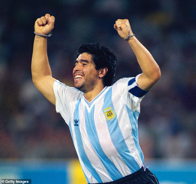 Hand Of God, Cocaine Battles…Check Out The High And Low Points Of Maradona's Career