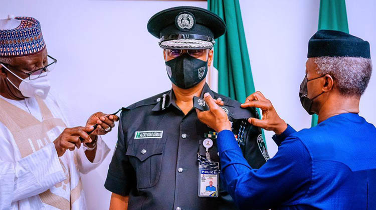 What Osinbajo Told Acting IGP, Bala After Decorating Him At The  Presidential Villa