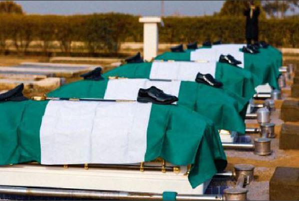 NAF Crash Victims Finally Buried Amidst Tears