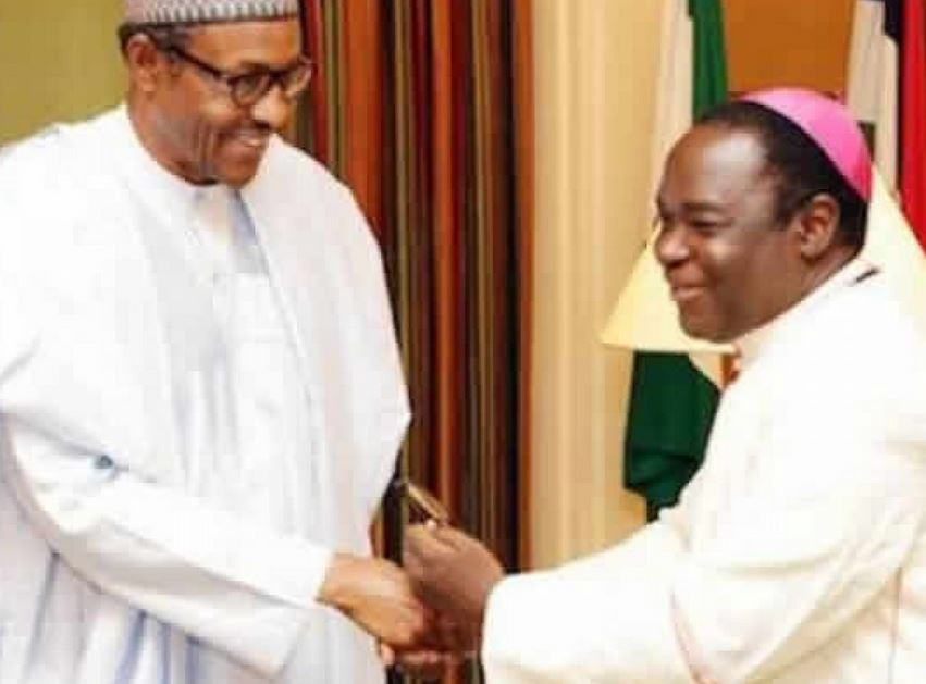 Presidency Slams Bishop Kukah Over Comments Before US Congress