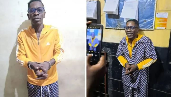 Court Remands Shatta Wale And Three Others In Police Custody After Pleading 'Not Guilty'